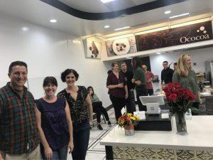 Ococoa Soft Opening - Jon Varsano, Liz Nelson, Diana Malouf