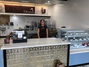 Diana Malouf in the sparkling new Ococoa retail location